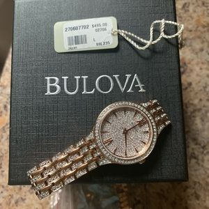 Bulova Rose gold women's watch